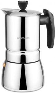 AMFOCUS Stovetop Espresso Maker Moka