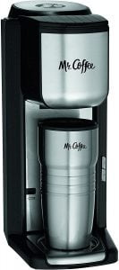 Mr. Coffee- Best Single Cup Coffee Maker with Built-in