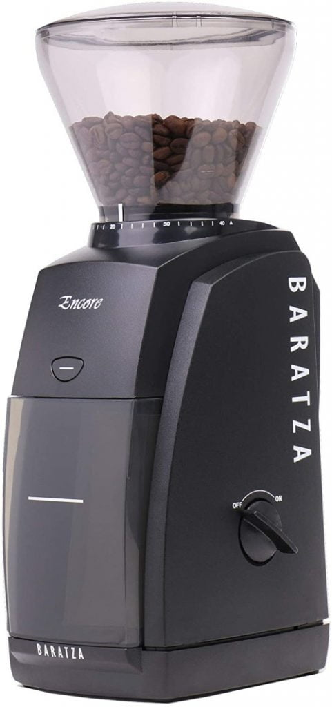 Baratza-Encore-Conical-Burr-Coffee-Grinder-Entry level grinder
