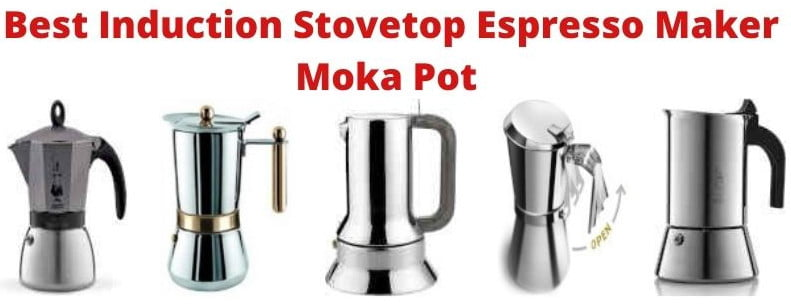Best Induction Stovetop Espresso Maker Moka Pot Review