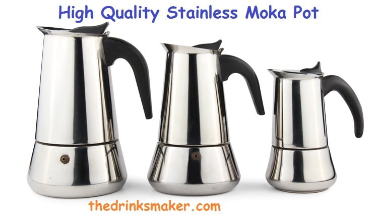 Best Stainless Steel Moka Pot-thedrinksmaker