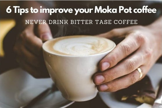 6 Tips to improve your Moka pot coffee-thedrinksmaker