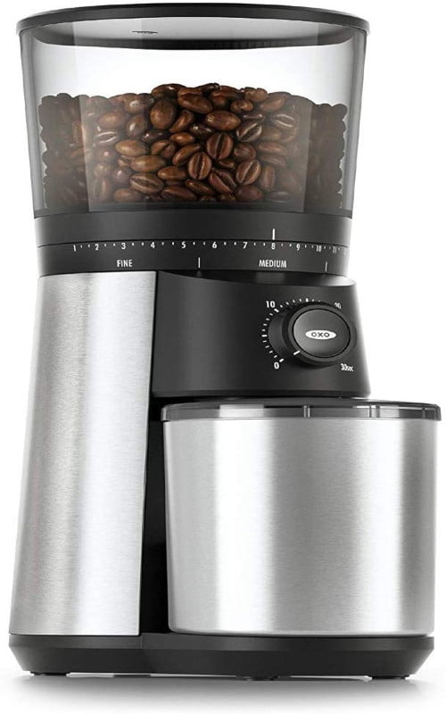 OXO Brew Conical Burr Coffee Grinder-best affordable