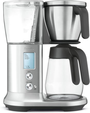 Breville Precision Brewer Glass, Brushed Stainless Steel