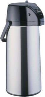 Zojirushi Premier Air Pot Beverage Dispenser, 2.2 Liters, Stainless, Made in Japan