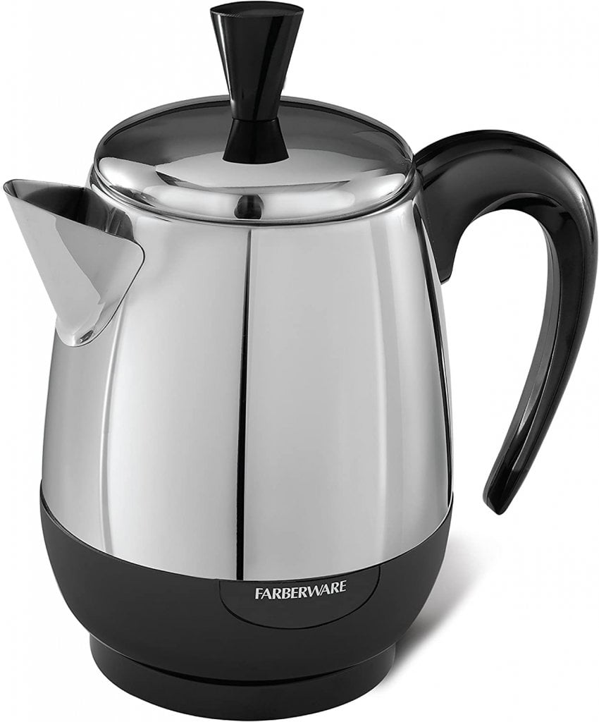 Farberware 2-4-Cup Percolator, Stainless Steel