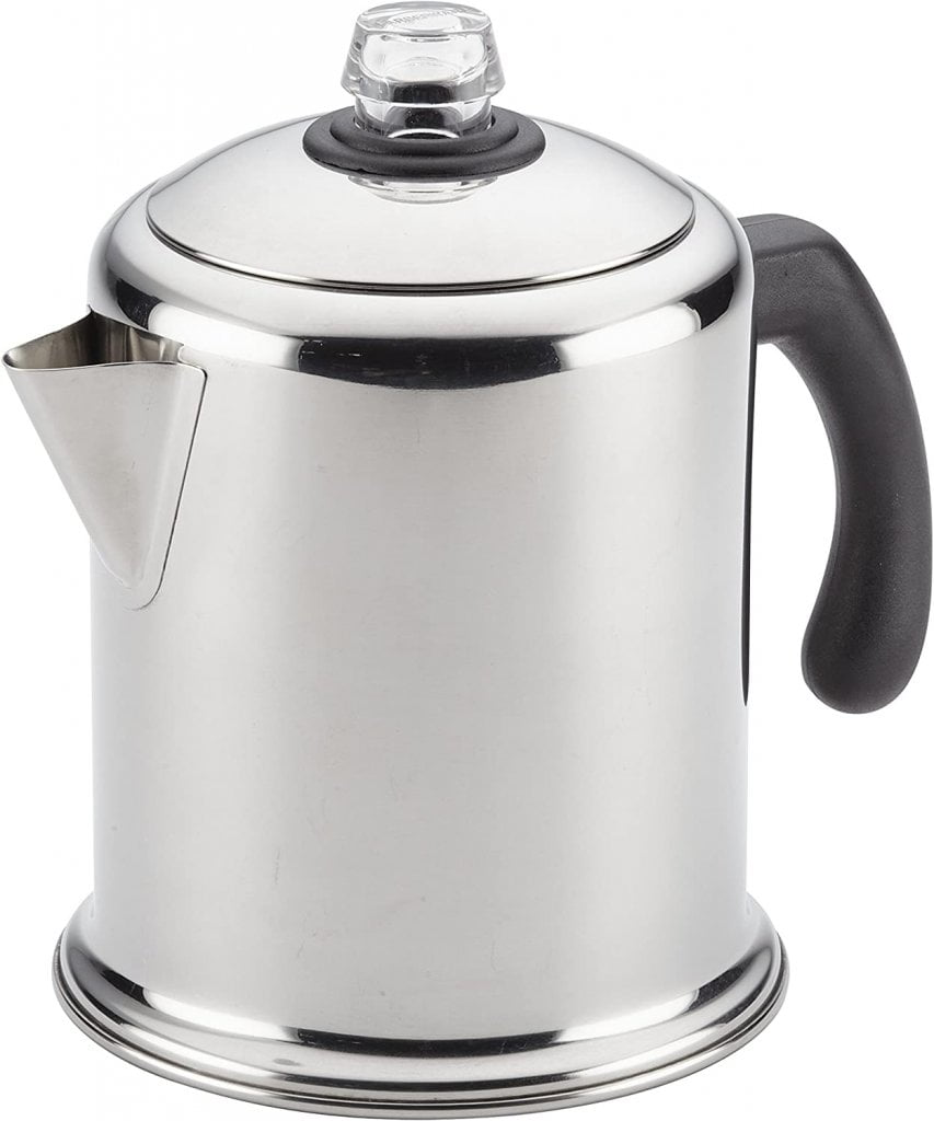 Farberware 47053 Classic Stainless Steel Yosemite 12-Cup Coffee Percolator