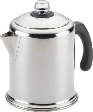 Farberware 47053 Classic Yosemite Stainless Steel Coffee Percolator